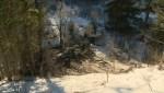 Raw video: Plane debris still smoking after crash west of Calgary