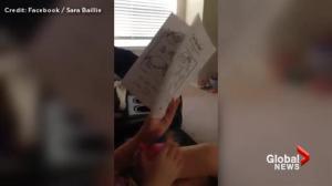 Facebook video of Amber Alert subject Taliyah Leigh Marsman