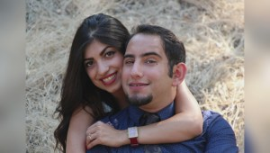 Long-distance love story halted by Trump