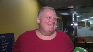 Rob Ford describes progress of cancer treatment