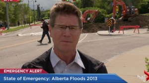 Flood reflections: Gord Gillies