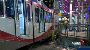 CTrain derails at City Hall station