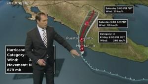 Tracking Hurricane Patricia