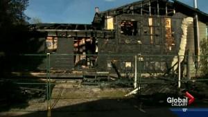 House fire in Sundance