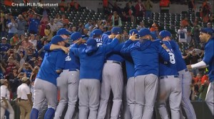 The Toronto Blue Jays are the 2015 AL East champions
