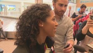 Desiree Scott talks about her Rio Olympic win