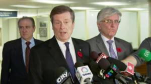 John Tory announces city manager will be staying on
