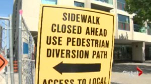 Unofficial pedestrian detour in harbourfront bad idea: lawyer