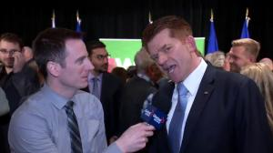 New Wildrose leader Brian Jean on being elected
