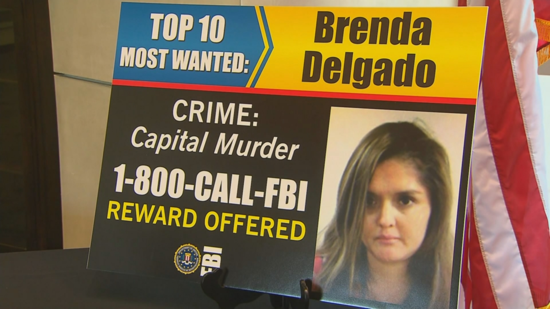 Dallas Woman is the only Female on FBI's Most Wanted List