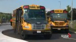 Bus driver suspended after child picked up on school bus and dropped off alone