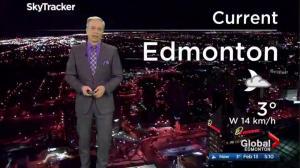 Edmonton early morning weather forecast: Monday, February 13, 2017