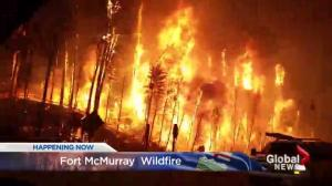 Alberta man shares his story of escape from Fort McMurray wildfire