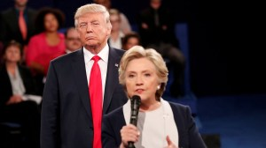 Clinton calls Trump a 'creep' over moment during presidential debate in new book excerpt