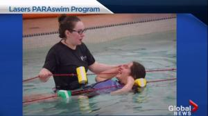 Mimosa run supports Laser paraswim program