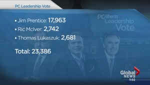 Jim Prentice wins Alberta PC leadership race