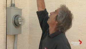Assessing home power line damage