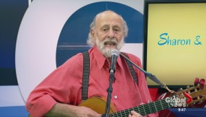 Children's entertainers Sharon and Bram perform 'Tingalayo'