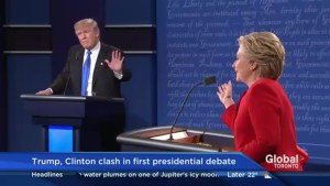 Who had the upper hand in the presidential debate? Here's what Trump and Clinton's body language reveals