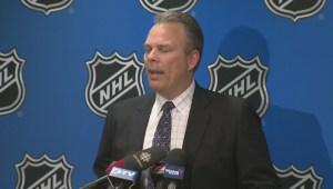 Winnipeg Jets G.M. Kevin Cheveldayoff on Draft Lottery