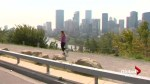 Runners in Calgary keep up the pace despite smoky air