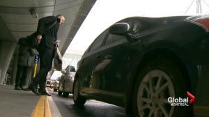 Secret taxi riders