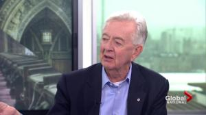 Reform Party founder Preston Manning reacts to Canada's populist movement