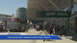 Vancouver Intl. named best airport in the world