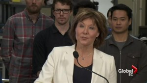 Premier Christy Clark expands on the Liberals jobs plan