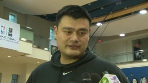 Former NBA star Yao Ming inspires youth at Basketball Without Borders Global Camp