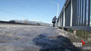 Vancouver's battle with icy conditions
