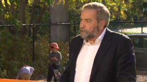 NDP leader Tom Mulcair proposes a $15-a-day national child care program