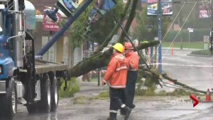 Major storm hits BC