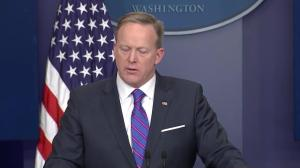 Spicer says Justice Department to blame for Flynn situation