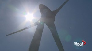 Wind turbines proposed in southern Alberta