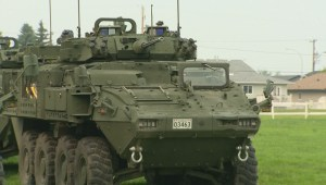 RAW: Military troops arrive in Prince Albert to help fight wildfires