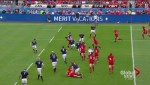 Rugby action: Canada vs Tonga