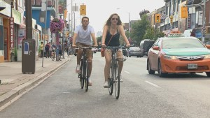Construction for Bloor Street bike pilot project starts Tuesday