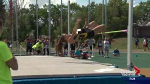 Provincial High School Track and Field Championships held in Edmonton