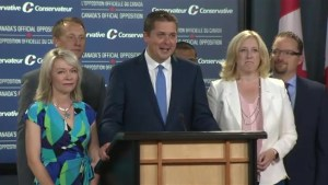 Andrew Scheer introduces his 'leadership team'