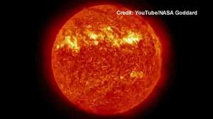 Five-year timelapse of the sun