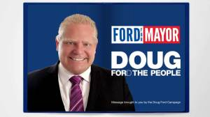 Latest Doug Ford political ad digs up old endorsement from John Tory
