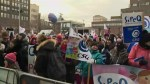Quebec daycares stage province-wide protests