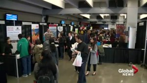 Hundreds of unemployed attend Calgary job fair