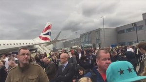 London City Airport evacuated after 'chemical incident'