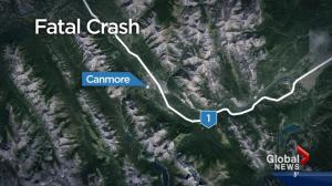Fatal crash near Canmore