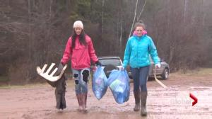 Pollet River Run leaves 5000 lbs of trash