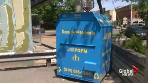 Vaudreuil cracks down on charity donation bins