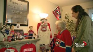 91-year-old Habs superfan ready for playoffs