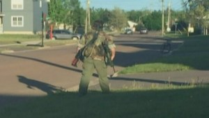 Moncton shooting: Suspect arrest unfolds on social media